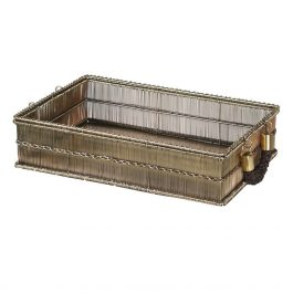 Small Rectangular Tray with Rope