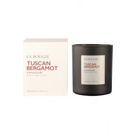 Tuscan Bergamot Scented Candle