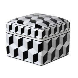 Cubist Trinket Jar