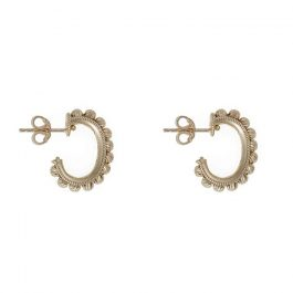 Gold Mondello Mini Hoop Earrings
