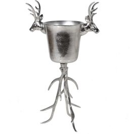 Large Standing Stag Wine Cooler