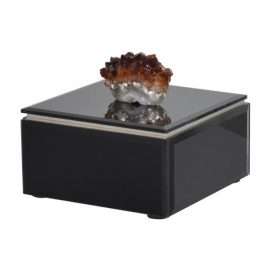 Agate Decorated Jewellery Box