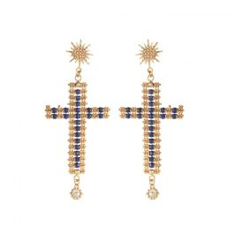 Ada Cross Earrings