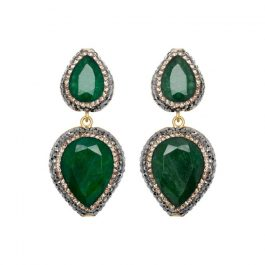 Emerald Earrings