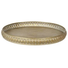 Large Round Filigree Tray