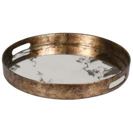 Marble Effect Mirror Tray