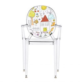 Children's Lou Lou Ghost Chair – Sketch