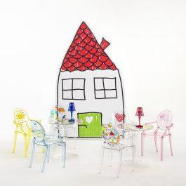Children's Lou Lou Ghost Chair – Princess