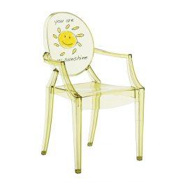 Children's Lou Lou Ghost Chair – Sun
