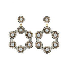 Baroque Pearl Mini Hoop Earrings