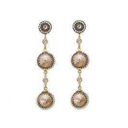 Peach Linea Earrings